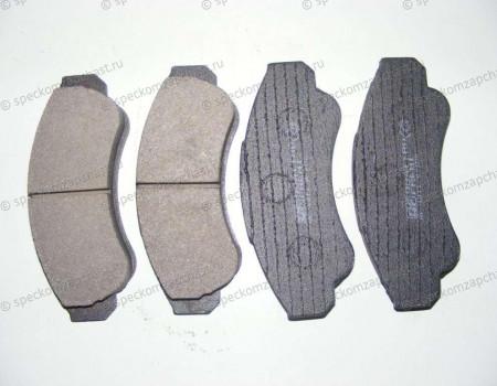 Колодки передние дисковые (Q18) R16 на Фиат Дукато - 77364859