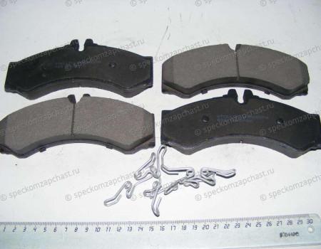Колодки тормозные передние W909/W904 на Мерседес Спринтер - A0044202420