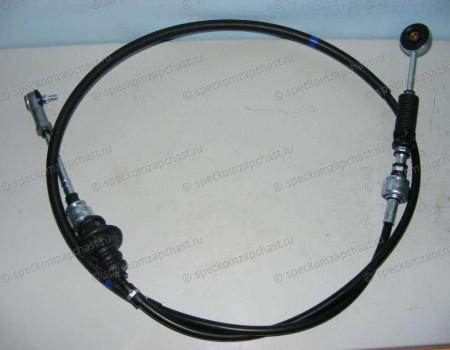 Трос переключения передач КПП (сцепление) 2WD - 1.4TON (J3 - 2.9) на Киа Бонго - 437604E310