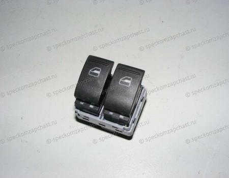 Выключатель стеклоподъемников левый черный на Фольксваген Транспортер - 7E0959855A9B9