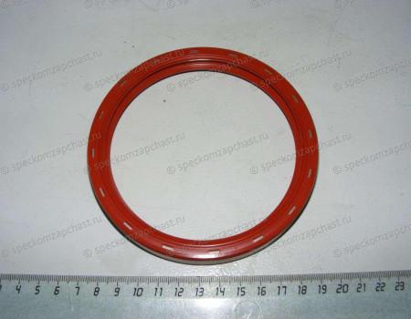 Сальник коленвала задний D4DD/D4DB/D4AL (100х124х13.5) (без шайбы с пружинкой) на Hyundai HD - 2112741010