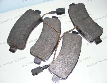 Колодки задние дисковые Q20 на Фиат Дукато - 77367094