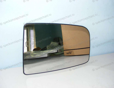 Стекло зеркала левое W906 (верхнее) (с подогревом) (квадрат) на Мерседес Спринтер - A0028111533