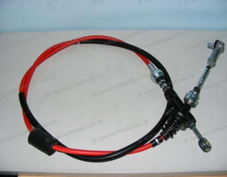 Трос переключения передач КПП (J2 - 2.7) переключения на Киа Бонго - 437614E600