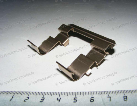Пружинка направляющая колодок тормозных передних на Киа Бонго - 581444E000