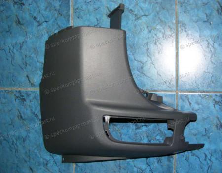 Бампер задний левая часть W906 на Мерседес Спринтер - A9068801071