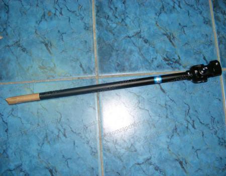Вал карданный рулевой нижний (от редуктора к рейке) с верхней крестовиной на Киа Бонго - 568504E440