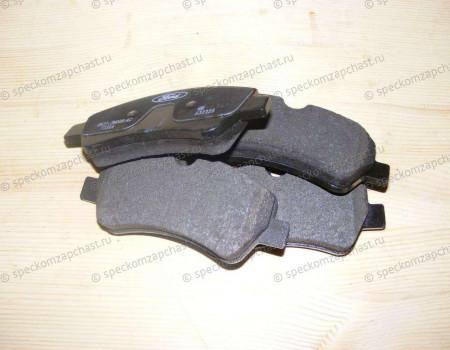Колодки тормозные задние (дисковые) 14- на Форд Транзит - 1840037