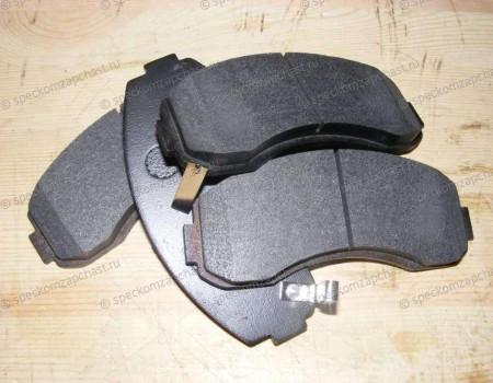 Колодки передние дисковые (однопоршневой суппорт) (D4BH, J2) на Киа Бонго - 0K60A3328ZA