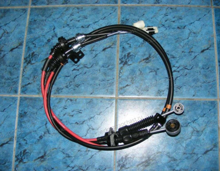 Трос переключения передач КПП (A2 - 2.5) 4WD на Киа Бонго - 437404E420