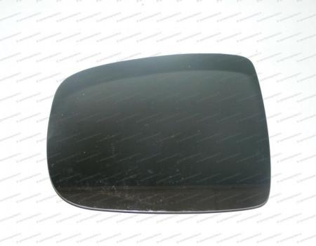 Стекло зеркала правое верхнее (с подогр эл.) (одинарное) на Киа Бонго - 876214E502