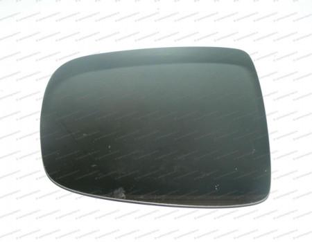 Стекло зеркала левое верхнее (с подогр эл.) (одинарное) на Киа Бонго - 876114E502