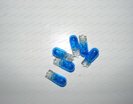 Лампа бесцокольная 12V 5W (blue) на Хендай Портер 1 - 104497755