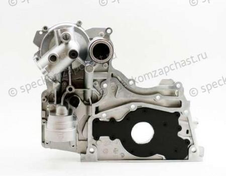 Крышка передняя двигателя (масляный насос) ЕВРО-4 на Газель Некст - 5302887